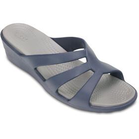 Crocs Sanrah - Sandales Femme - bleu